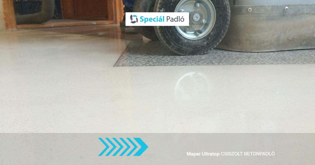 Speciál Padló betoncsiszolás