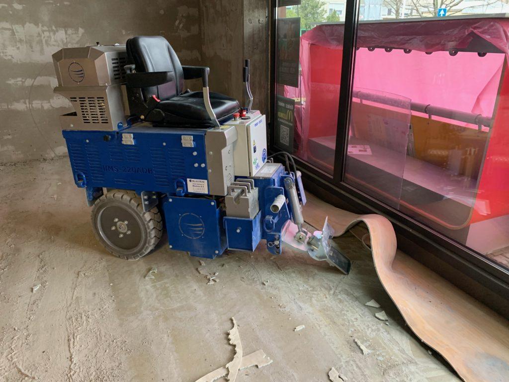Burkolatbontás, PVC, Műgyanta, Csempe, Burkolólap eltávolítás
